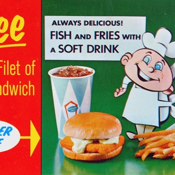 1966 Fish and Fries Ad