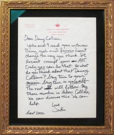 Danny- John Lennon letter