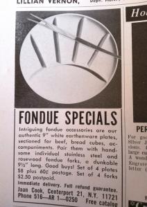 fondue special ad